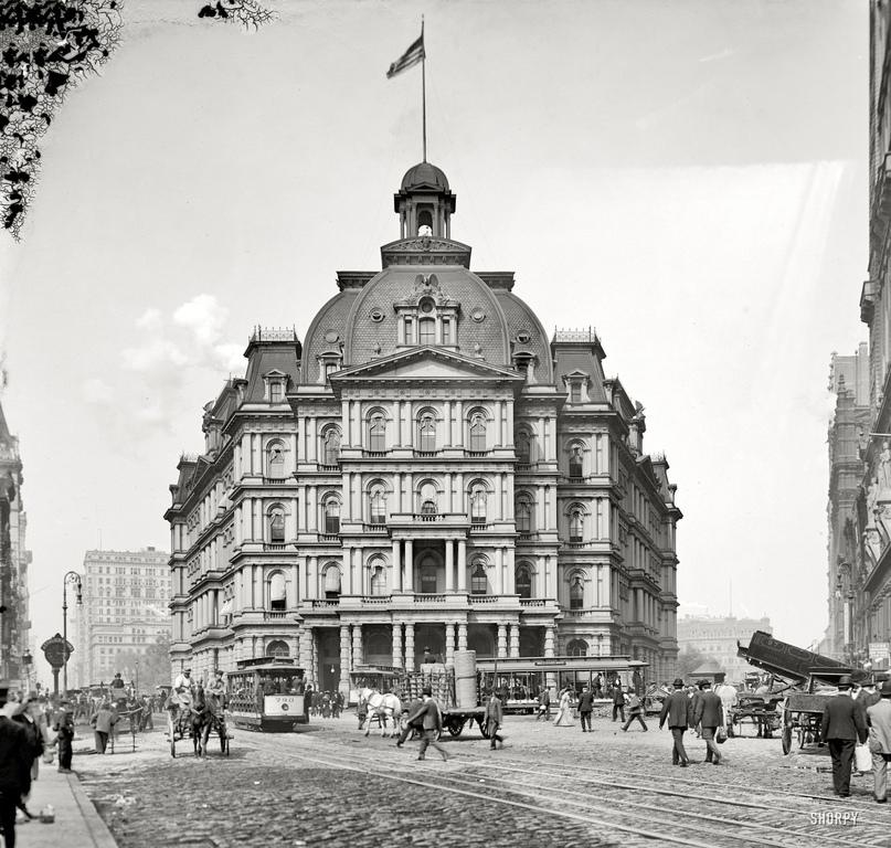 HD-фотографии городов США сделанные в 1900-1915 годах, изображение №31