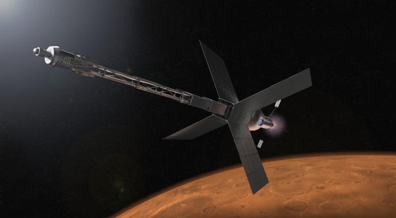 Пентагон оформил запрос на предоставление ядерных двигателей для космических аппаратов