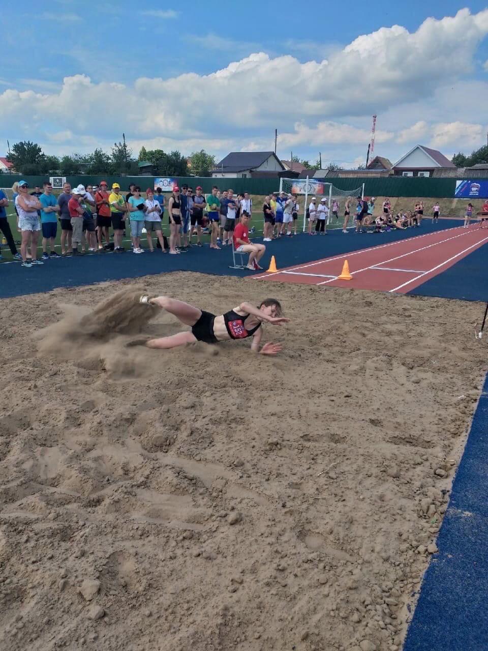 Первые победы наших спортсменов на летних сельских