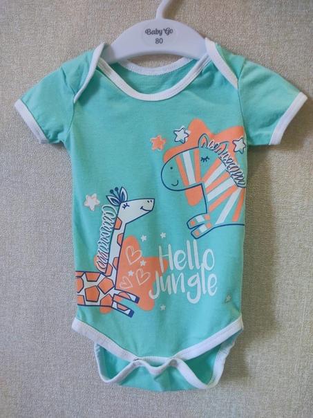 Новый боди красивого мятного цвета фирмы Baby go, подойдё...