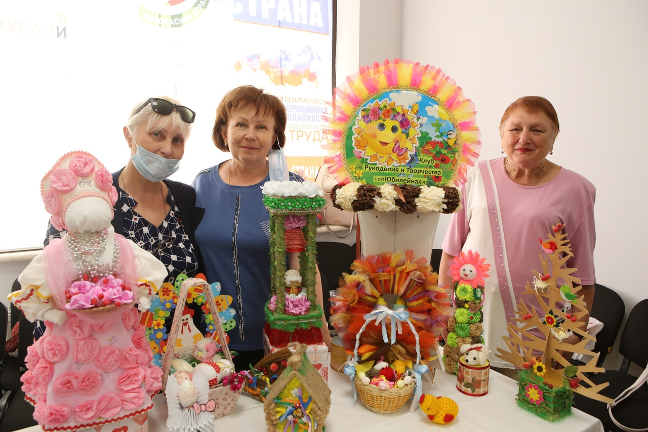 Городской фестиваль декоративно-прикладного творчества граждан старшего поколения «Пасхальный сувенир»