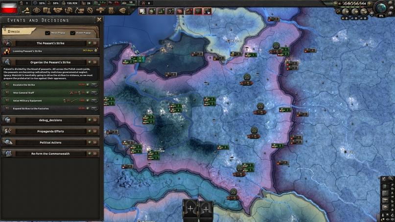 Дневник разработчиков Hearts of Iron IV — Изменение древа фокусов Польши, часть 2, изображение №4