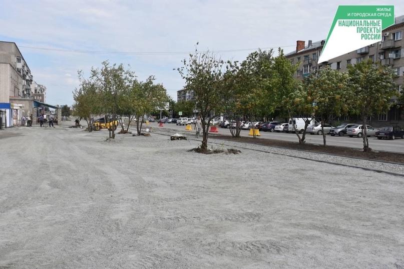 🔶 В Троицке ведутся активные работы по улучшению городской среды