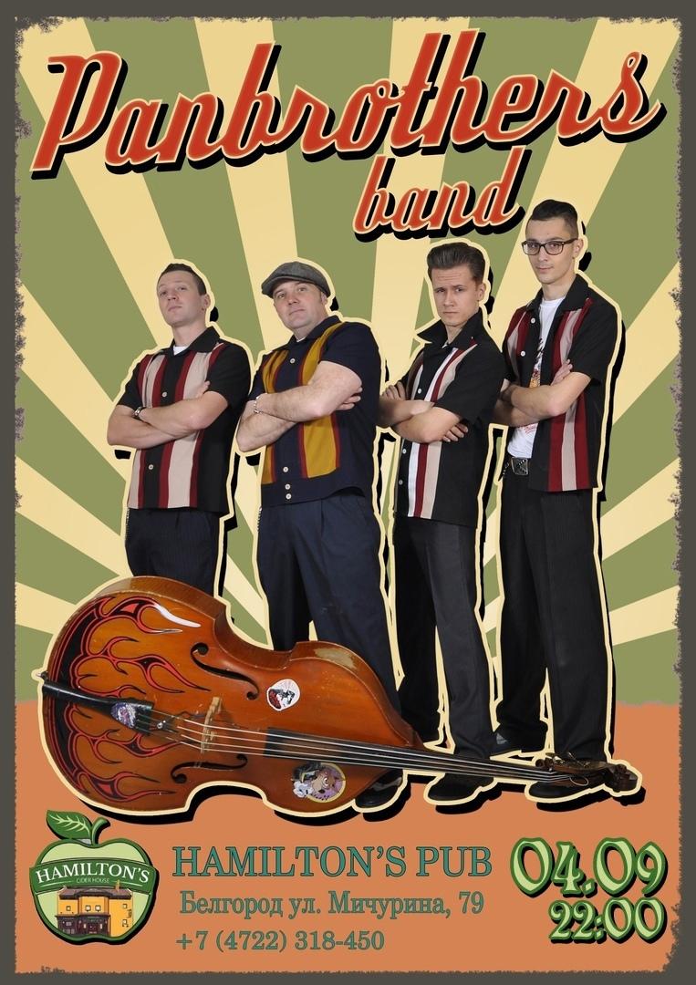04.09 Panbrothers в Hamilton's pub!