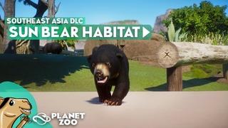 SUN BEAR Habitat - Planet Zoo Southeast Asia DLC - Speedbuild
