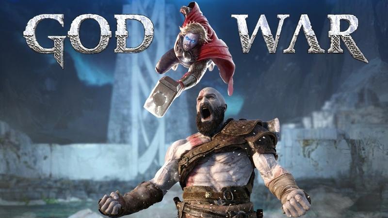 God of War 2 Ragnarok Кратос в АСГАРДЕ битва ТОРА и ЗМЕЯ масштабы ИГРЫ Мифология и новые факты