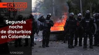Segunda noche de disturbios en Colombia - NOTICIERO 11/09/2020