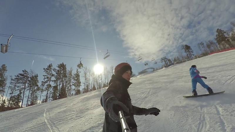 Сноуборд Бобровый лог 2020