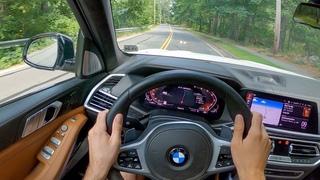 2020 BMW X7 M50i - POV Test Drive by Tedward (Binaural Audio)