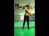 SLs Обучающее видео! Как научиться делать переворот назад? Даяна Ерёмина:))