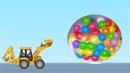 Мультик про трактор – Учим животных.Развивающий мультфильм для детей