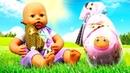 Сюрприз для куклы БЕБИ Анабель! – Детские мультики с Baby Born на английском языке.