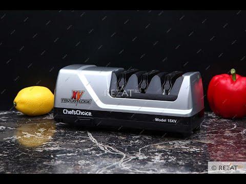 Электрическая ножеточка Chef's Choice отзывы Обзор Электрическая точилка для ножей цена купить