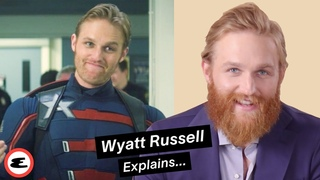 Wyatt Russell Reacts to Falcon and the Winter Soldier Fan Theories | Explain This | Esquire