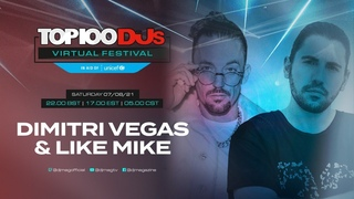 Dimitri Vegas & Like Mike live for the #Top100DJs Virtual Festival, in aid of Unicef