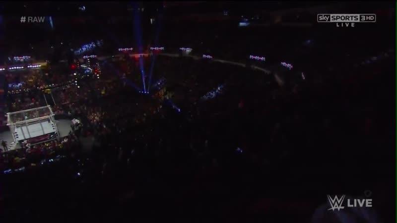 John Cena vs Seth Rollins Steel Cage Match WWE Raw 12/15/14