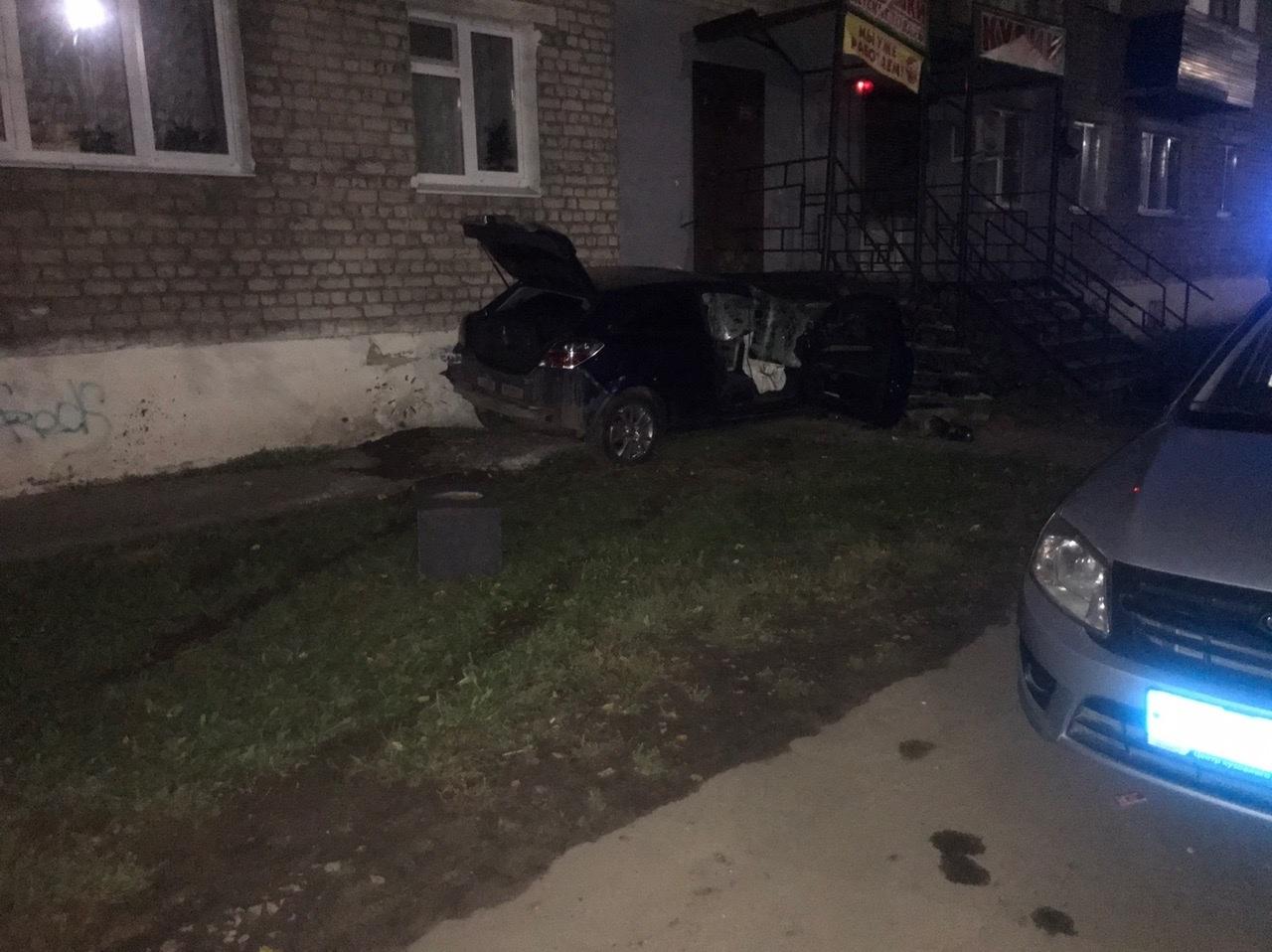 авария на улице Дзержинского в Балахне 16 сентября