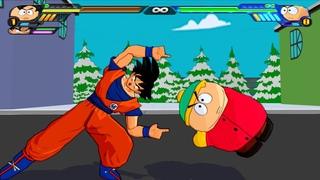 Goku and Eric Cartman FUSION | DRAGON BALL MEET SOUTH PARK | DBZ Tenkaichi 3 (MOD)