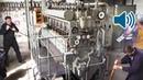 Start Up of a WW2 Submarine Diesel Engine of a German U-Boat 🔊