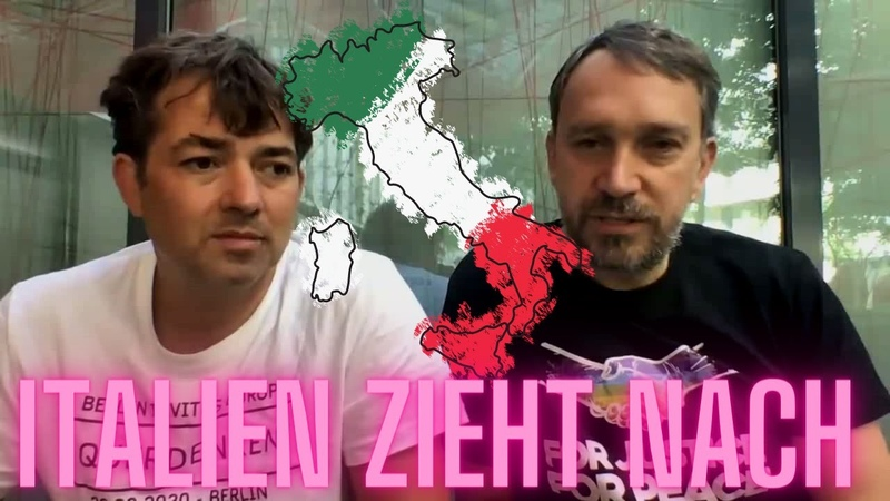 Italien steht auf nach dem Vorbild Deutschlands Demonstration in Rom geplant Ralf Michael