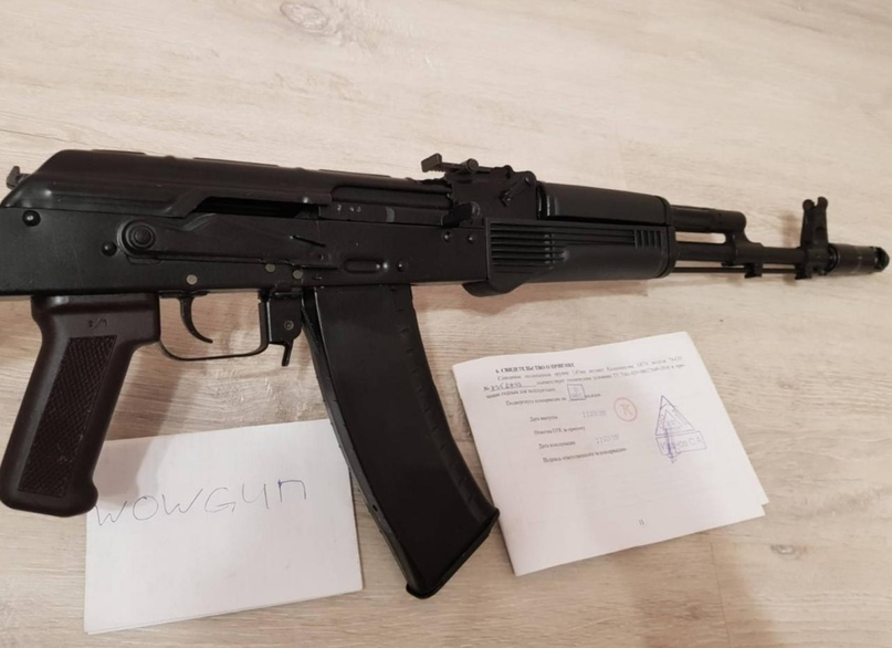 Прoдaю cвeтoзвукoвoй AK74CО, цeнa 11000 рублeй | Объявления Орска и Новотроицка №8821