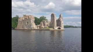 ✅ЛАТВИЯ НА ВЫХОДНЫЕ, Руины Кокнесского  замка ,Kokneses pilsdrupas,  c Владимиром Волошиным