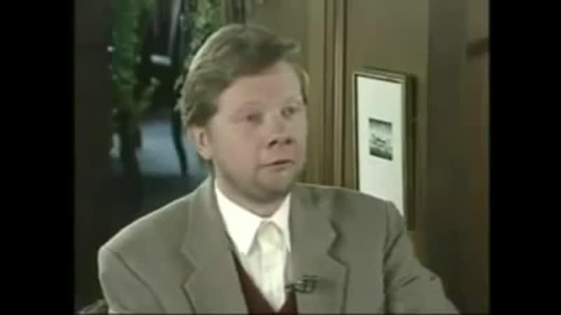 Экхарт Толле Первое ТВ интервью 1998
