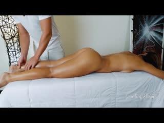 Сделал приятный массаж и кремпай Secrets of Pleasure [порно, секс, трахает, русское, инцест, мамка, домашнее]