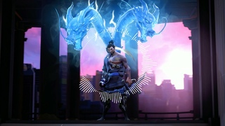 """Japanese epic type beat, Japanese Trap and bass """"Hanzo""""(Overwatch)"""