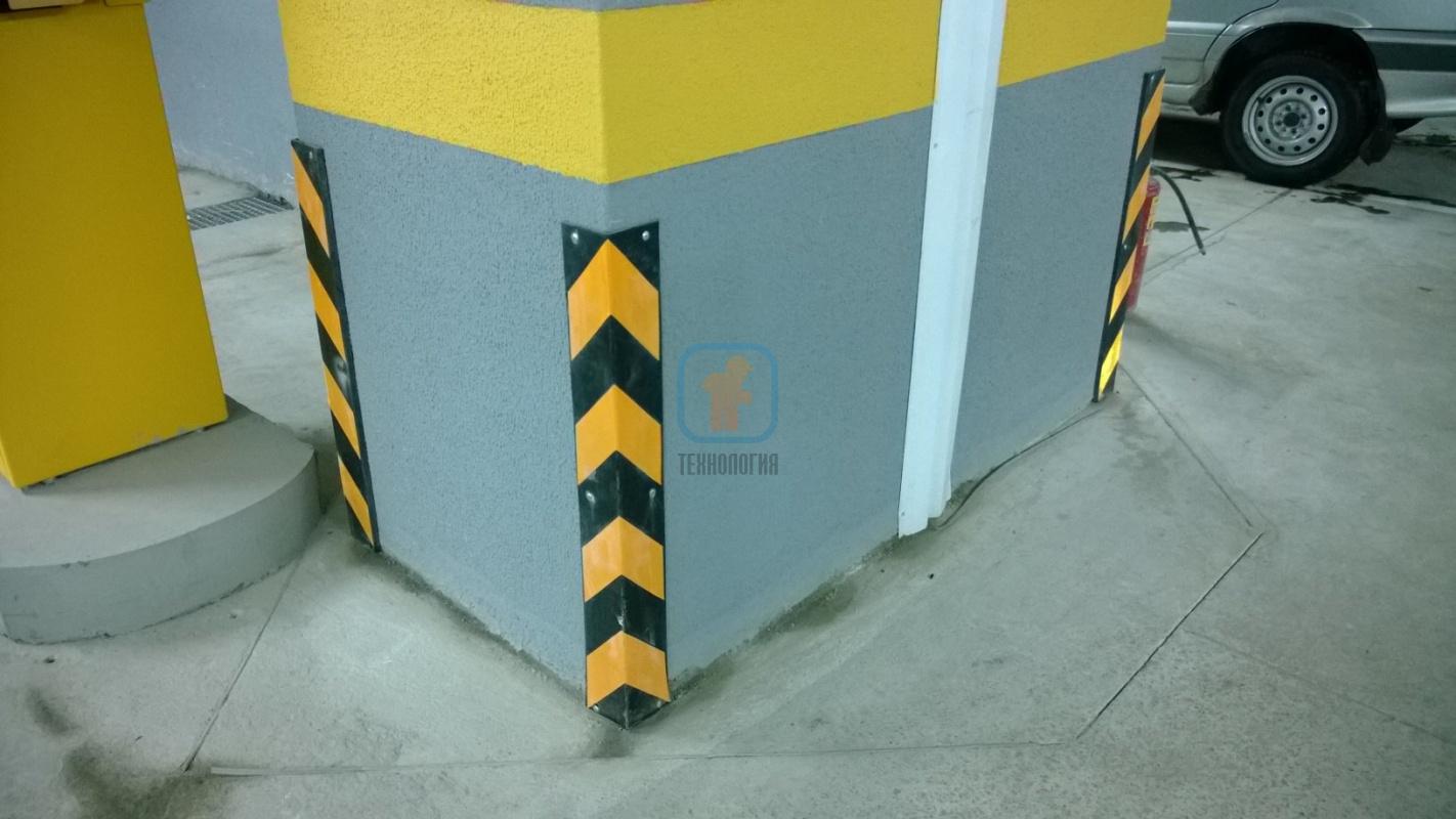 Резиновые отбойники для парковок