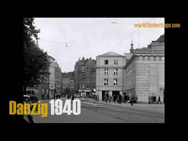 Danzig 1940 Gdańsk Gdańsk Wrzeszcz Langfuhr