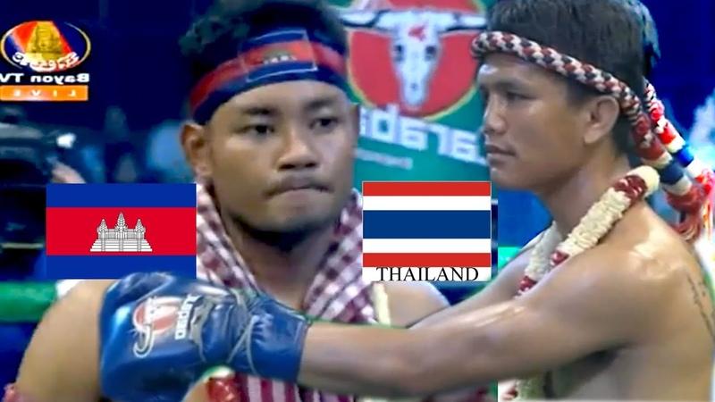 25/11/2018 - ផល សោភ័ណ្ឌ ,Phal Sophorn vs KhumphetchThai, Bayon Kun Khmer