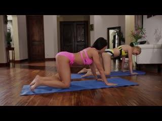 Pornomix / Adriana Chechik Lyra Law - babe Massage Lesbians Oiled MILF yoga Teen Pussy Licking лесбиянки массаж All Girl Massage