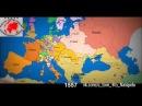 НЕВЕРОЯТНО! Как изменялась территория границ России и Украины за последних 1000 лет! 19.08.2014