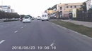 ДТП с мотоциклом в Ставрополе на ул.Доваторцев 23.08.18