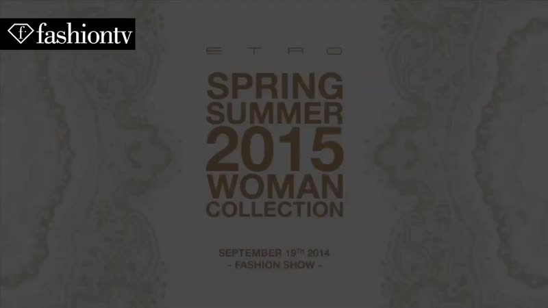 Etro Spring _ Summer 2015 Runway Show _ Milan Fashion Week MFW _ FashionTV