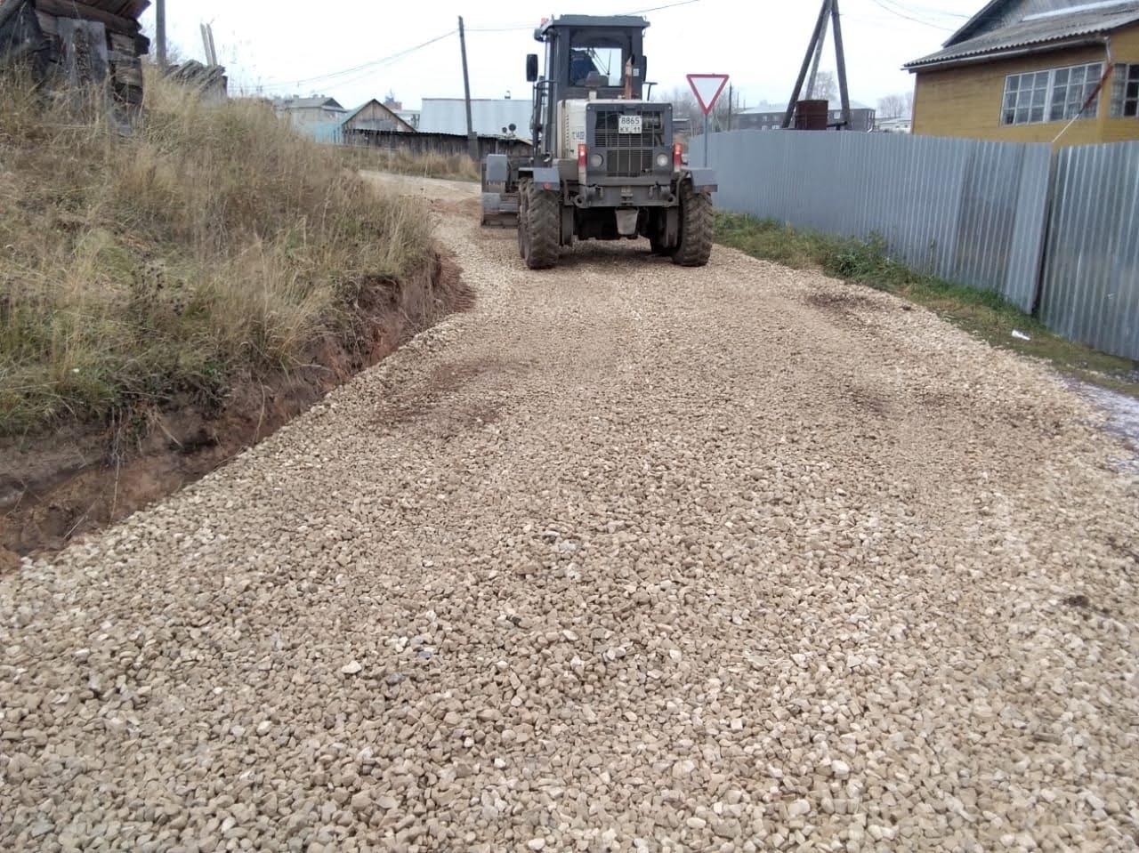 В селе Кослан были проведены работы ремонту дорог