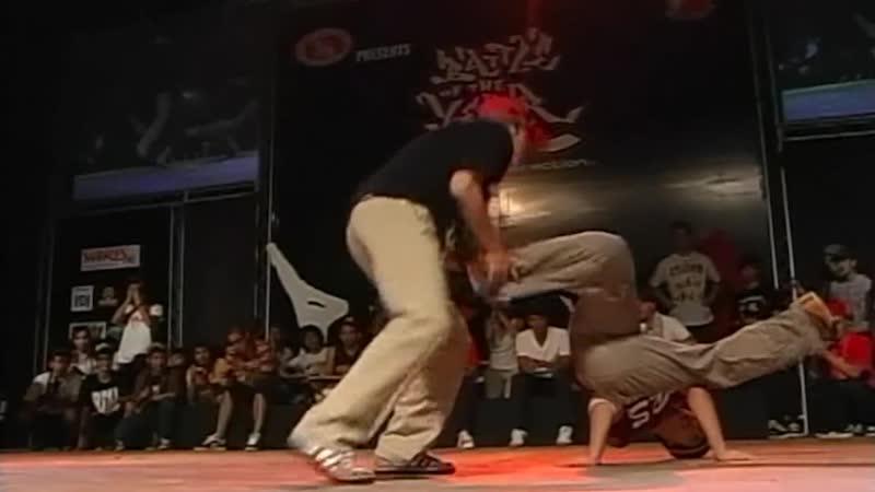 BOTY ASIA 2008 - SEMIFINAL BATTLE 2 - T.I.P. VS KAITEN NINJA [BOTY TV]