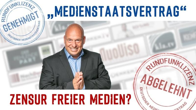 Medienstaatsvertrag – Zensur freier Medien? | 12.11.2018 | www.kla.tv/13328