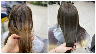 Холодный пепельно русый, как закрасить осветленные волосы в натуральный оттенок. Cold ash blond