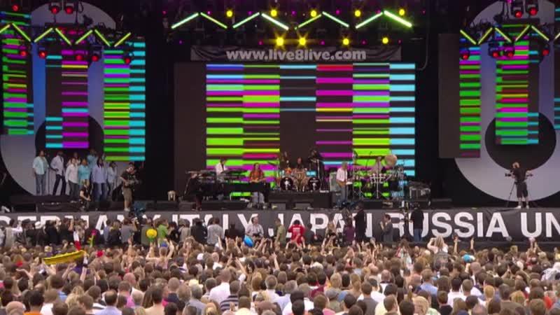 Elton John The Bitch Is Back Live 8 2005