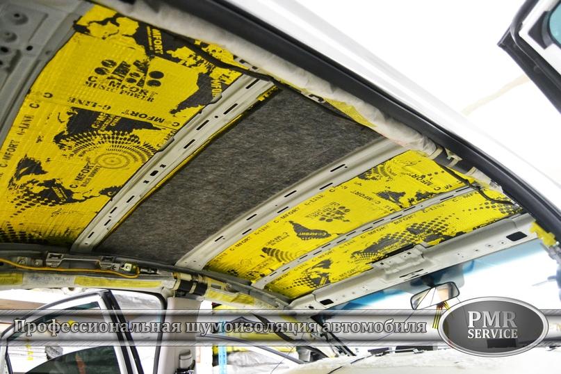 Комплексная шумоизоляция Hyundai Sonata, изображение №5
