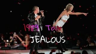 Taylor Swift & Nick Jonas - Jealous at The 1989 World Tour (New Jersey 2015)