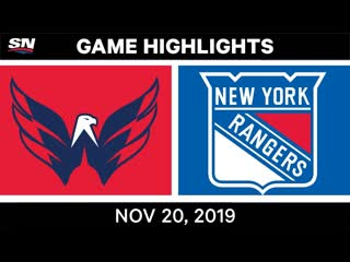 Nhl highlights _ capitals vs. rangers – nov. 20, 2019