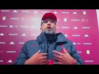 Реакция КЛОППА на РАЗГРОМНОЕ поражение от Астон Виллы | Астон Вилла 7:2 Ливерпуль