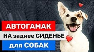 🐕 Лайфхак в Машину. Обзор - Автогамак для Собак | Как Возить Пса в Машине?