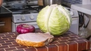 Салат из капусты. Готовлю Три раза в день. Идеальный салат для вашего мужчины.