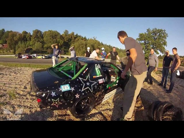Kestutis Petronis Drift CRASH FASTLAP eve FULL video