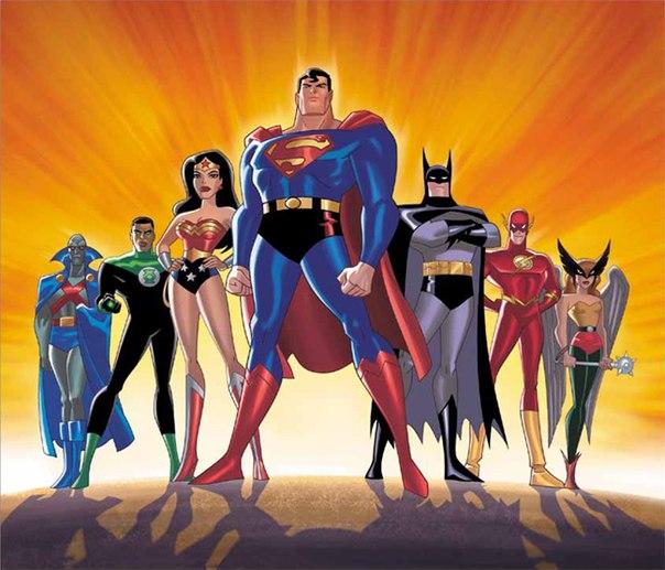 justice league cartoon - HD1024×768
