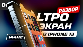 Новые LTPO дисплеи в iPhone 13. ОБЪЯСНЯЕМ